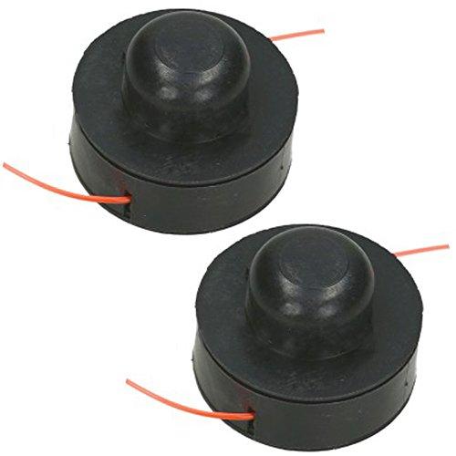 Spares2go - Bobina y línea para desbrozadora de césped (Pack de 2)