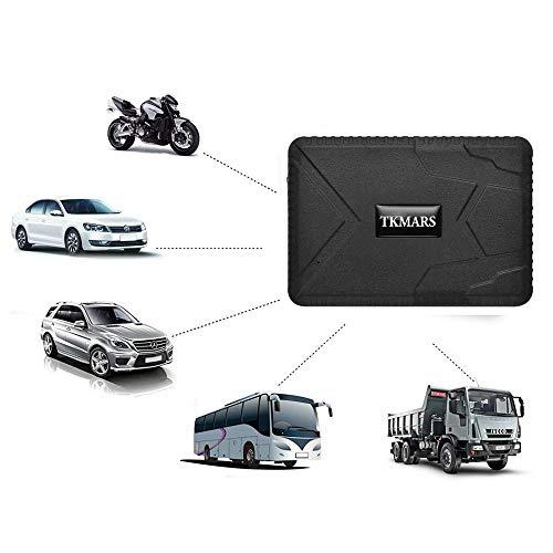 TKMARS TK915 - Rastreador GPS para coche o moto, GPS en tiempo real, rastreador de GPS y LBS