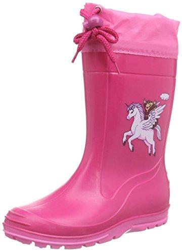 Beck Pferd pink 498, Bottes pluie fille - Rose, 29 EU