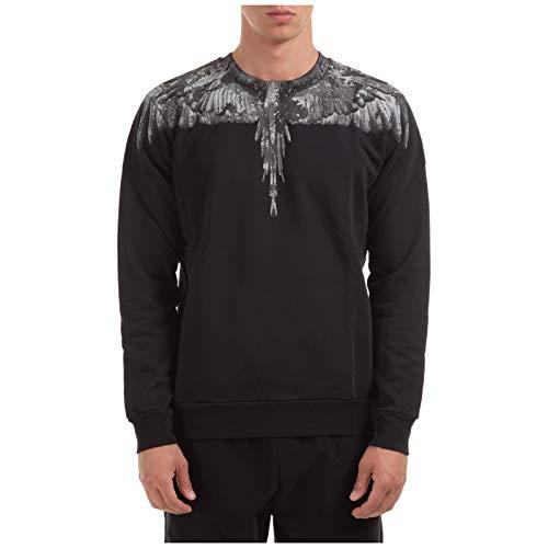 MARCELO BURLON Herren Sweatshirt Wings Nero M
