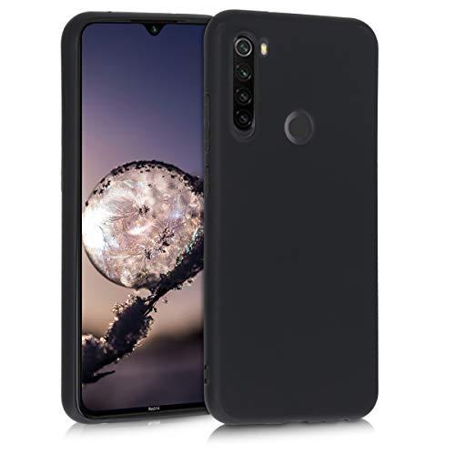 kwmobile Hülle kompatibel mit Xiaomi Redmi Note 8T - Hülle Silikon - Soft Handyhülle - Handy Hülle in Schwarz matt