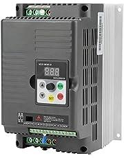 VFD 5.5kW 220V,Controlador de velocidad VFD monofásico de frecuencia variable para motor de CA trifásico de 5,5 kW