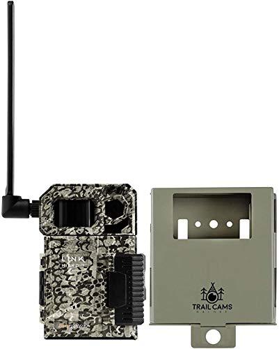 SPYPOINT Link-Micro-LTE Cellular Trail Kamera mit Stahl-Sicherheitsgehäuse (Link-Micro-LTE-V)