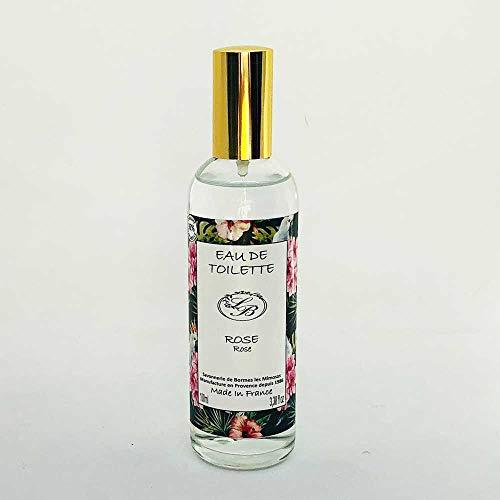 Rose Eau de Toilette, Vaporisateur/Spray 100ml aus der Provence - Muttertagsgeschenke