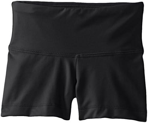 Capezio girls Team Basic Gusset Short Black Medium 7 8 product image