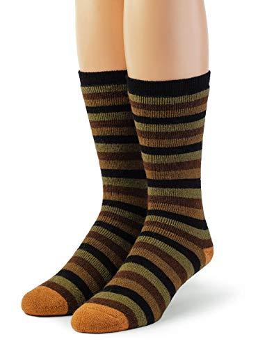 Warrior Alpaka Socken - Damen Outdoor Alpakawolle Socken Frottee gefüttert mit Komfortband Öffnung -  mehrfarbig -  Medium