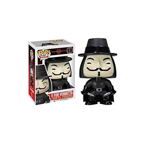 Apalldoo Funko POP V for Vendetta PVC Action Figure Collectible Model Toys for Chlidren Birthday Gift Box