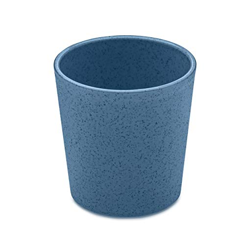 Koziol Becher Connect, Trinkbecher, Tasse, Thermoplastischer Kunststoff, Organic Deep Blue, 190 ml, 3141675
