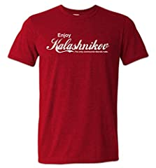 Sip down some 7.62x39 with your AK47 and enjoy some Kalashnikov. This AK-47 shirt pays homage to one of the greatest firearms ever created. The only communist idea that liberals don't like. Come and take it Beto. All guns matter, even commie engineer...