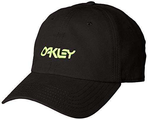 Oakley Gorras Washed Cotton 6 Panel Blackout Black Adjustable