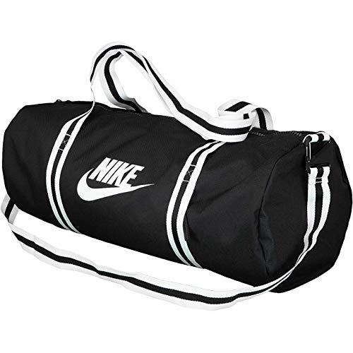 Nike Heritage Duffle Sporttasche Bag (one Size, Black/White)