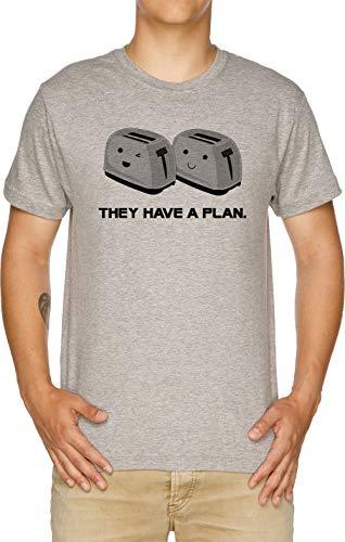 Vendax Toasters T-Shirt Uomo Grigio