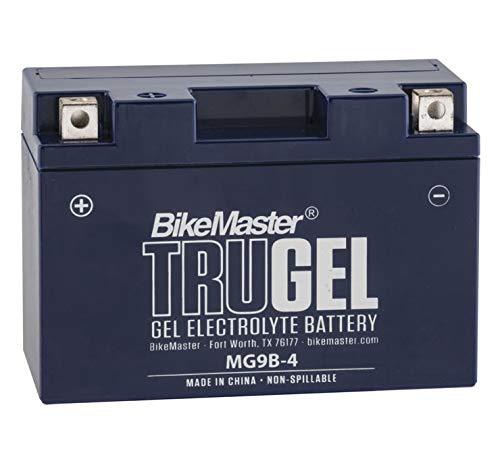 BikeMaster TruGel Battery MG9B-4 for Yamaha YZF-R6 2001-2005