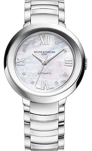 Baume&Mercier Reloj Analógico para Mujer de Cuarzo con Correa en Acero Inoxidable M0A10162