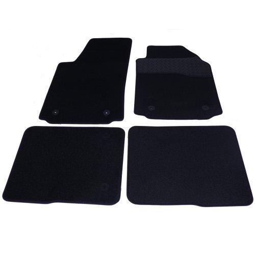 Sakura ww0207 tapijt badmatten set met hakbeschermer van Gi zwart