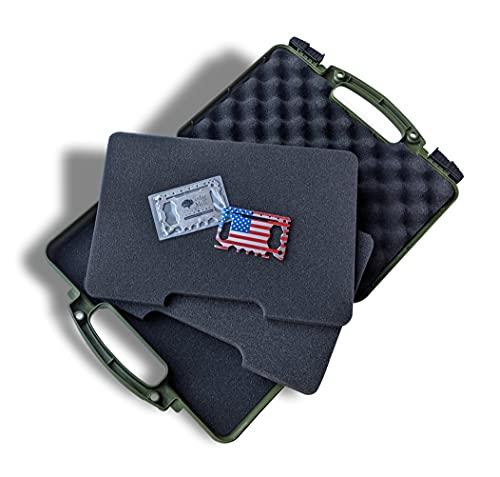 Olive Drab Green - Hard Gun Case Pistol Case – TSA...