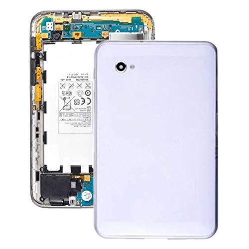 JIANGHONGYAN Cubierta Posterior de la batería Tapa Trasera de batería for Galaxy Tab 7.0 Plus P6210 (Color : Blanco)