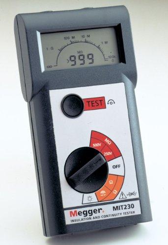 Megger MIT210-EN Insulation Tester, 1000 Megaohms Resistance, 1000V Test Voltage