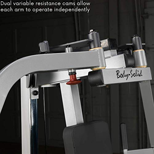 Body-Solid GPM65 Plate Loaded Pec Machine for Chest, Back, and Shoulder Training and Workouts