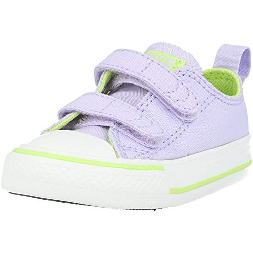 Converse Chuck Taylor All Star 2V Ox Moonstone Violet/Lemongrass Canvas 8 US Infant