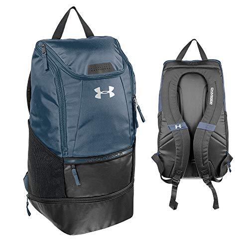 Under Armour Striker2 Soccer Backpack, NAVY BLUE, Large