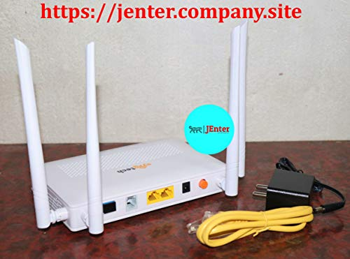 Syrotech SY-G/EPON-1110 WDAONT Wont G/EPON ONU Wireless Router Optical Network Unit with 4 Antenna