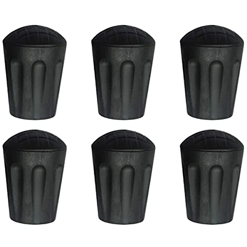 Need Extra Hiking Pole Replacement Tips? - Pack of 5 - Fits All Standard Hiking, Trekking, Walking Poles