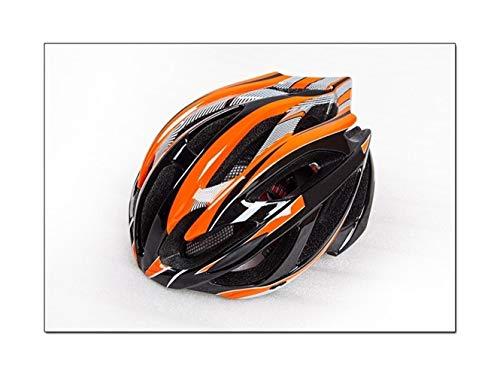 AMYHY Casco de Ciclo Ajustable, Casco de MTB Ligero para Adultos de 24 respiraderos, Casco de Bicicleta para Hombres y Mujeres Adultos, Casco de Ciclismo Protector de Seguridad
