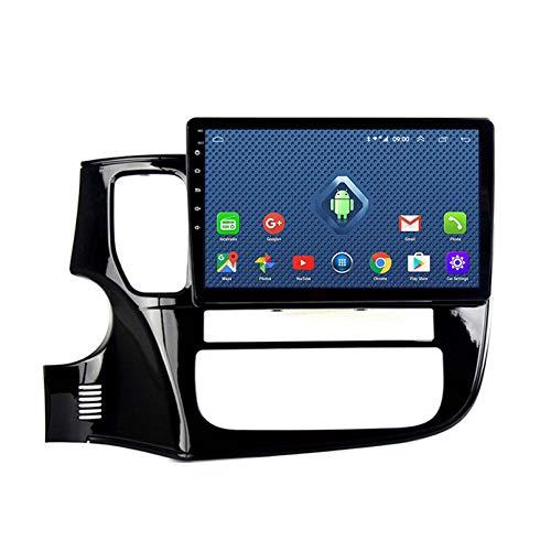 Android 10.1 Radio Para Automóvil Para Mitsubishi Outlander 2016-2018 Coche Estéreo GPS Navegación Táctil Mostrar Coche Reproductor Doble Din Head Unit Support WiFi Volante Control(Color:WIFI:1+16G)