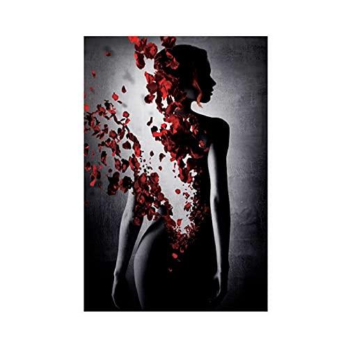 Póster de la película famosa del arte del perfume La historia de un asesino 2 póster de lona para decoración del dormitorio, paisaje, oficina, decoración de la habitación, regalo de 30 x 45 cm