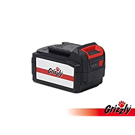 Grizzly Tools Batterie de rechange 24 V 3,0 Ah pour tondeuse à gazon ARM 2433-20