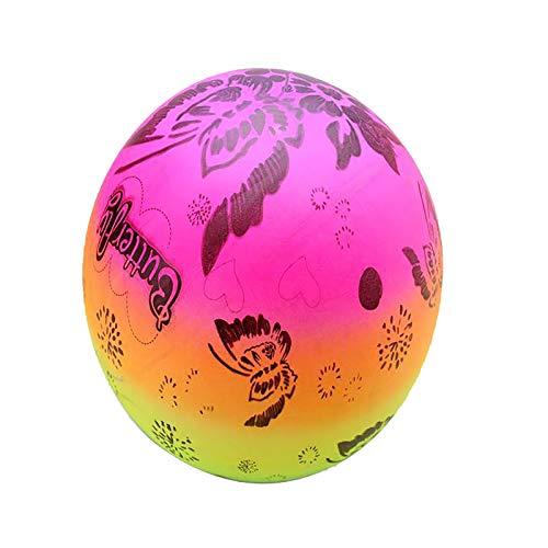 YWYU Rainbow Sports Ball, bolas de juegos para niños, juegos deportivos, balones de balonmano Dodgeball Kickball para niños
