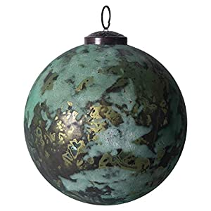 """Add to this year's tree for an extra special touch Include in a tabletop decoration for extra flare Hang on the handle of a cabinet 4. 75""""L x 4. 75""""W x 4. 75""""H"""