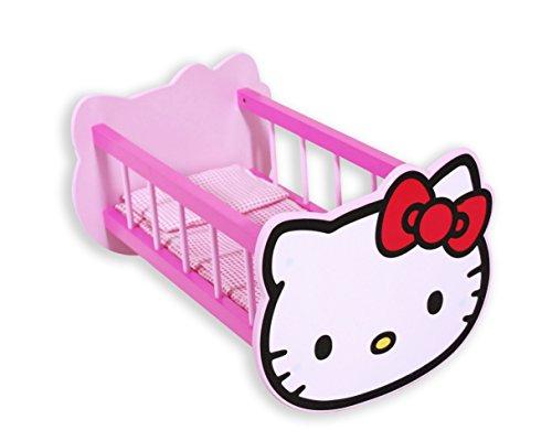 Hello Kitty – Berceau de Bois (Saica Toys 9366)