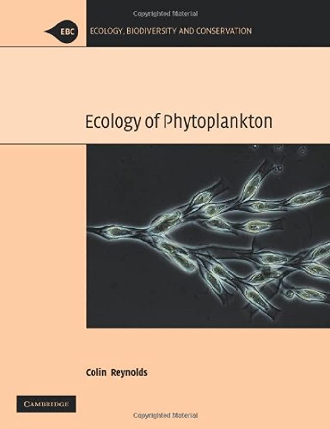 アセンブリ韓国オープニングThe Ecology of Phytoplankton (Ecology, Biodiversity and Conservation)