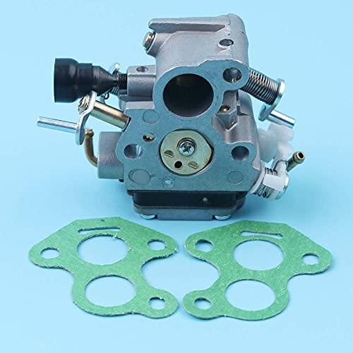 Kit de juntas de carburador compatible con Husqvarna 135140 140E McCulloch CS410 Repuesto de motosierras de cadena 506450501506 45 05-01