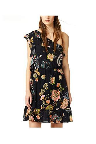Liu-Jo F19360T2269 Vestito Donna Nero 46