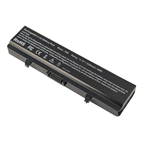aryee 5200mAh Batería para DELL Inspiron 152515261545154614401750GW240RN873M911K450HP297X284G J399N XR693WK371