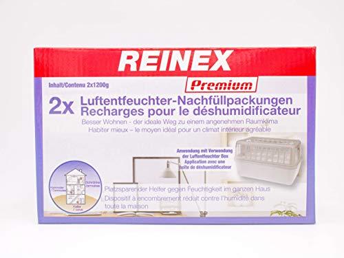 Vani 6 x 1200 Gramm (3B) Luftentfeuchter Nachfüllpack Vliesbeutel XXL Box Granulate Nachfüllen Raumentfeuchter + gratis Microfasertuch 30 x 30 cm