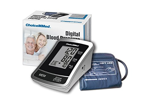 Brazo ChoiceMMed automática tensiómetro Digital tipo, bolsa de transporte gratuito
