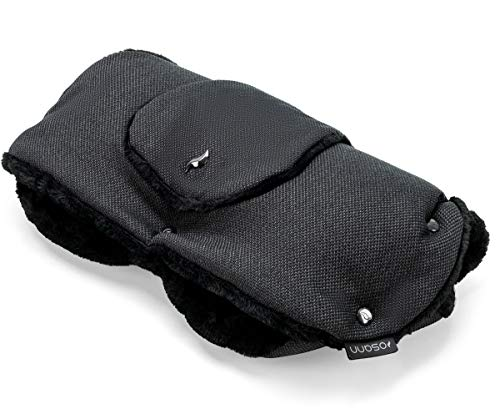 Osann Handmuff für Kinderwagen & Buggy inkl. Handytasche, Handwärmer, Muff aus Fell - Elegance