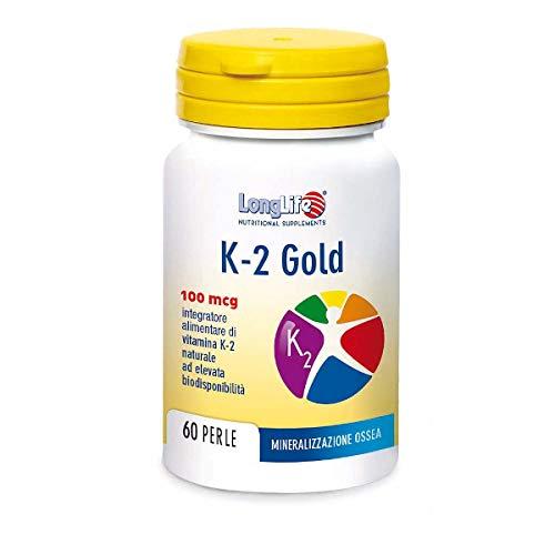 LongLife K- 2 Gold 100 Mcg - 24 g