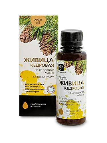 Cederhars met propolis en koudgeperste pure cederolie 100 ml