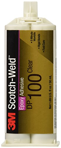 3M Scotch-Weld Epoxy Adhesive, Clear, 1.69-Ounce
