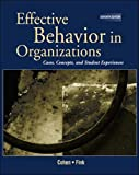 Effective Behavior in Organizations (REP) with PowerWeb