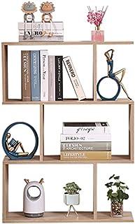 Etnicart - Bibliothèque Etagère Bureau en Chêne Moderne Contemporain Double Face en Bois Séparateur Maison Jour 70x23.5x96...