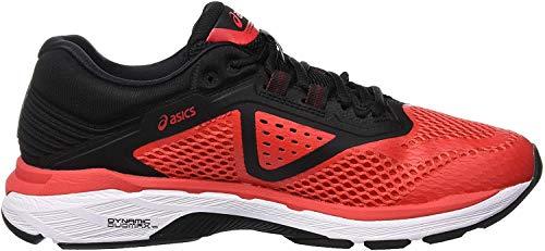 Asics Gt-2000 6, Zapatillas de Entrenamiento para Hombre, Rojo (Red Alert/Black 600), 42 EU