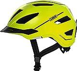 ABUS Pedelec 2.0 Stadthelm - Hochwertiger E-Bike Helm mit Rücklicht für den Stadtverkehr - für Damen und Herren - 81916 - Gelb, Größe L