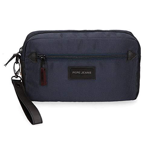 Bolso de Mano Pepe Jeans Lambert Azul, 24 cm