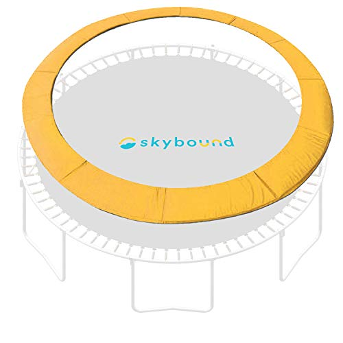 SkyBound 14 Foot Yellow Trampoline Pad (fits up to 7 Inch Springs) - Standard
